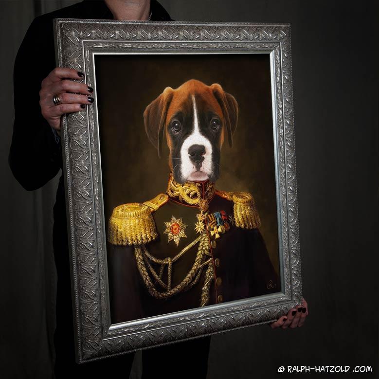 hund-boxer-gemälde-in-uniform-kleidung-ralph-hatzold02