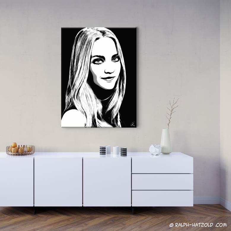 Foto In Pop Art Umwandeln, Foto Pop Art Portrait Von Ihrer Vorlage
