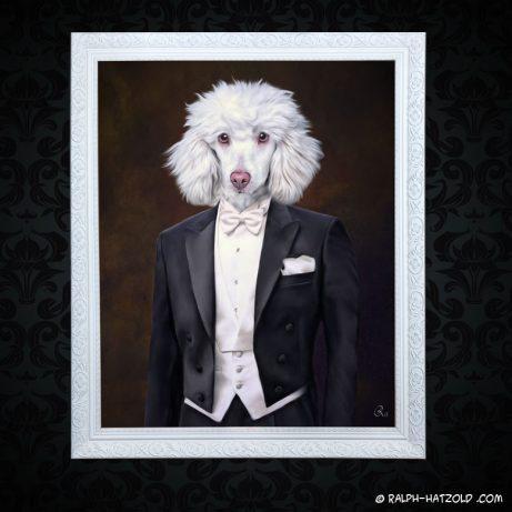 Pudel, poodle , Pudelkleidung, Hunde in Kleidung, Hunde in Uniform, Gemälde Stil, Gemälde Hund in Uniform, Gemälde Stil, Hund in Uniform, Hund in Kleidung, Gemälde Hund Barockrahmen, Gemälde Stil, Antik Bild Hund in Anzug, Gemälde, Geschenk, Bild kaufen Hund in Kleidung, Hundekleidung Pudel, Hundebekleidung