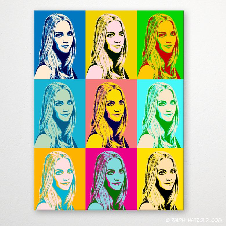 Foto in Pop Art umwandeln, Foto Pop Art Frau, Pop Art Geschenk, Pop Art Künstler, Pop Art Leinwand, Pop Art Poster, Pop Art Bochum, Pop Art Dortmund, Pop Art Essen, Pop Art Herne kaufen, Andy Warhol