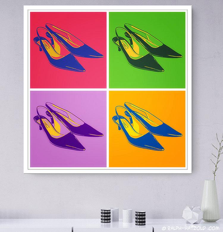 prada Schuhe Bilder Kunst Bild für die Wand Schuh Geschenke