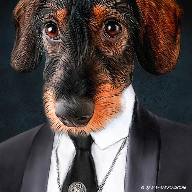Rauhaardackel Geschenk für Hunde Besitzer